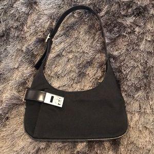 02f4fdc3f8 Salvatore Ferragamo - Black Mini Bag - EUC